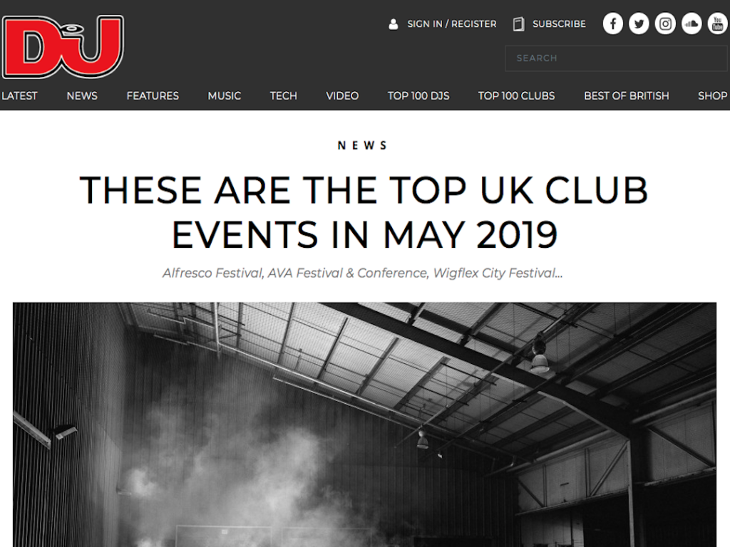 DJ Mag Feature Alfresco Festival in Their Top Events for May