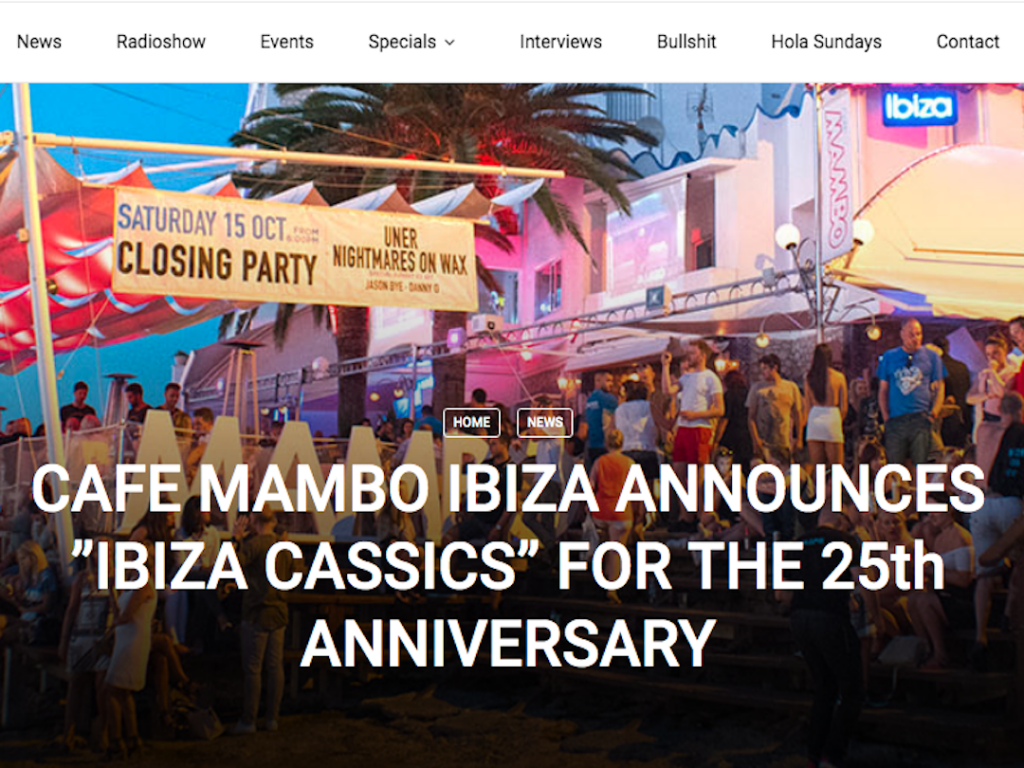 Fiesta Y Bullshit Features Cafe Mambo's 25th Anniversary News
